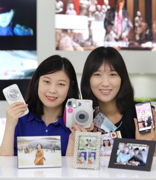 LG유플러스, 스마트폰 사진 인화까지 앱하나로 '끝'