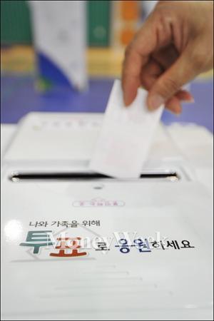 [7·30 재보선] 마감 3시간전 동작을 투표율 40% 육박