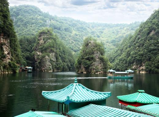 ▲중국 장가계 보봉 호수