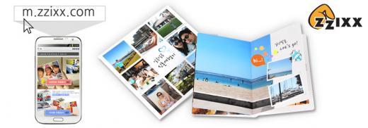 ▲찍스 사진인화 앱과 포토북