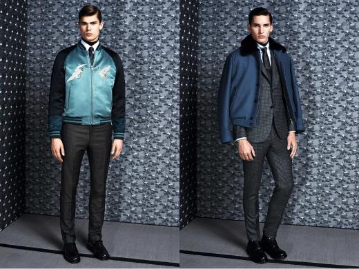 2014 F/W 남성 패션 트렌드 '캐주얼 아우터 믹스 매치'