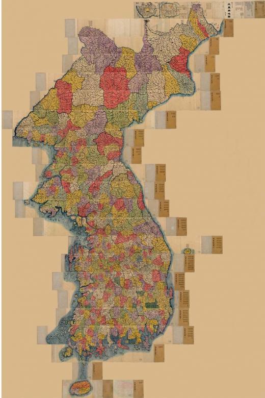 독도 담긴19세기 '채색필사본 대동여지도' 등 12건 문화재 등록 예고