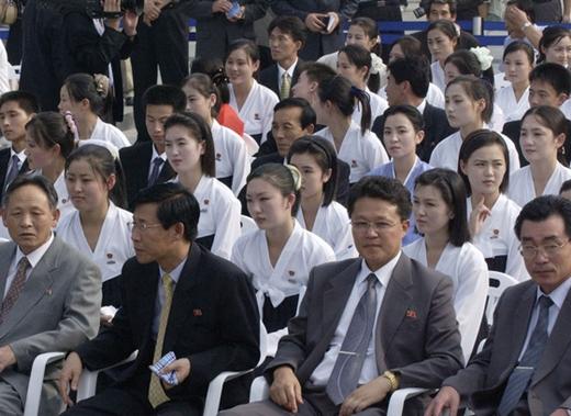 북한미녀응원단 /사진제공=뉴스1