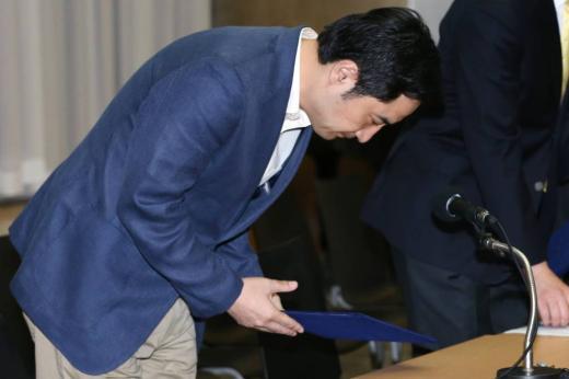 아나운서 비하 발언으로 물의를 일으켰던 강용석 전 의원. /사진=머니투데이DB