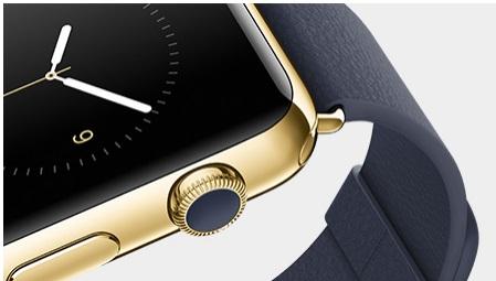 애플이 이번에 새로 공개한 시계형 웨어러블 기기인 '애플워치'