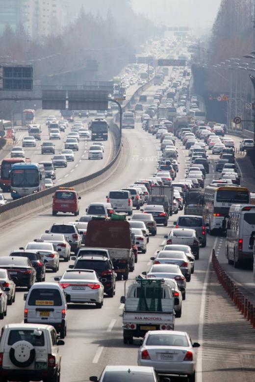 고속도로 정체/사진=뉴스1