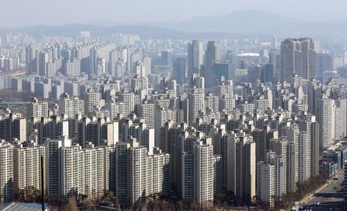 강남 아파트단지 잠실 재건축 아파트 일대 /사진=머니투데이DB