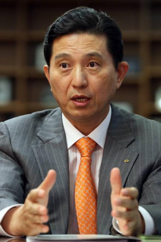 임영록 KB금융지주 회장 인터뷰