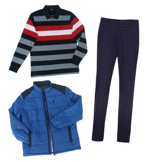 골프웨어, '컬러와 패턴'으로 스타일 높이고 다양한 '소재'로 편안하게