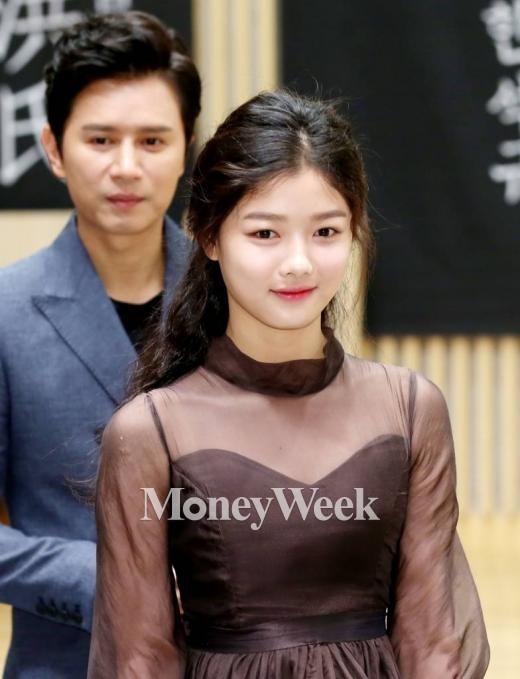 비밀의 문 제작발표회에 참석한 김유정(사진=홍봉진 기자)