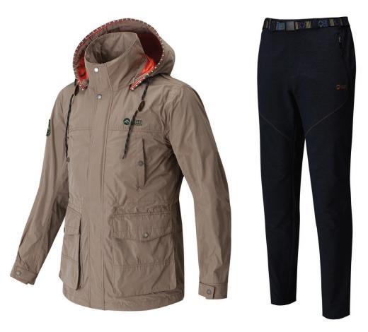 ▲ 피버그린 '가을방풍재킷', '스판 데님 라이크 팬츠'