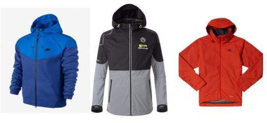▲<(왼쪽부터) 나이키(Nike), 이엑스알(EXR), 아디다스(Adidas) >
