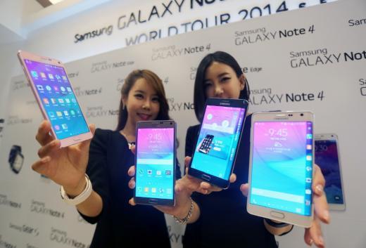 아이폰6 휘어짐 문제 속 갤럭시노트4 출시, 삼성전자 구원투수 될까