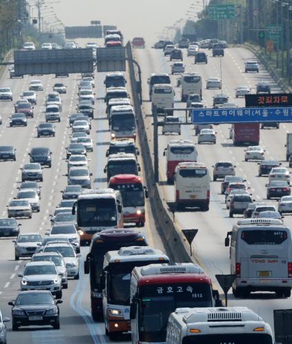 고속도로 정체 / 사진= 뉴스1