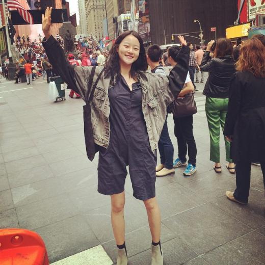 [★SNS] 모델 강승현, 화보 같은 뉴욕의 일상