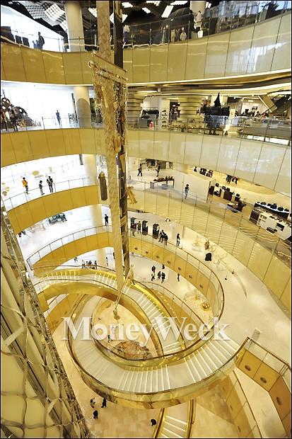 [MW사진] 국내 최대 실감, 제2롯데월드 쇼핑몰