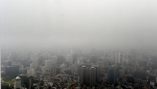 서울 남산 N서울타워에서 바라본 도심./사진=뉴스1