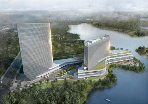 대우인터내셔널이 건설하는 호텔 조감도 /사진제공=대우인터내셔널