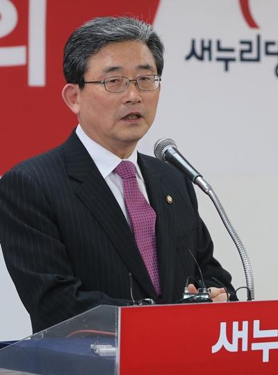 새누리당 연금 제도개혁 TF 위원장인 이한구 의원 /사진=머니투데이DB