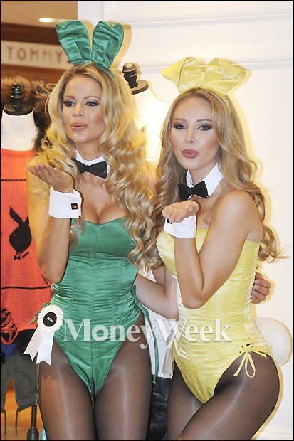 [MW사진] 플레이보이 모델 베스와 티파니의 섹시 포즈