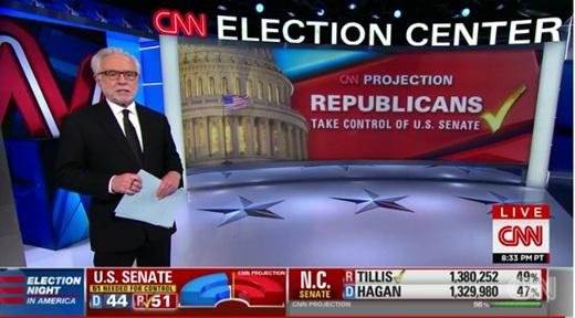 미국 중간선거 /사진=CNN 뉴스 캡처