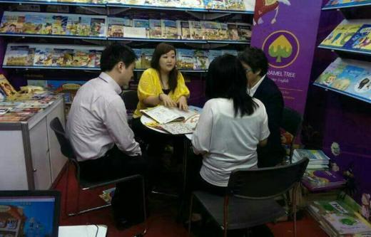 ▲ 지난 3월 참가한 동남아시아 최대 규모 국제 도서전인 '제 12회 방콕 국제 도서전' 현장