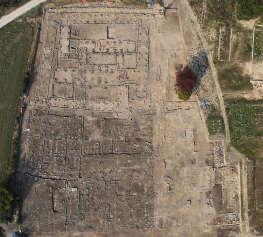 ▲원주 법천사지 발굴조사 지역 전경