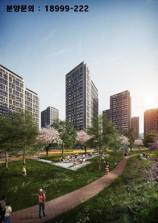 타고나야 名品, 녹지공간 풍부한 아파트가 뜬다