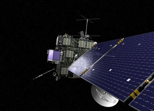 혜성 착륙에 성공한 탐사선 로제타 /사진=머니투데이DB