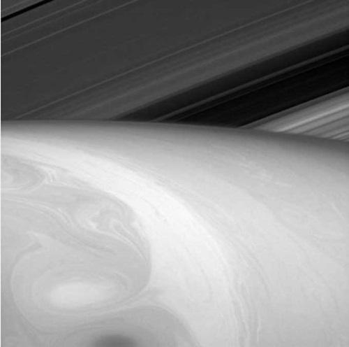 토성 거대 구름 공개 /사진=NASA 제공