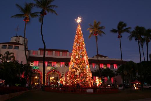 눈이 없어도 즐거운 크리스마스…하와이의 크리스마스 축제