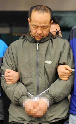 2012년 4월 수원 토막살인 사건의 피의자 오원춘/ 사진=뉴스1DB
