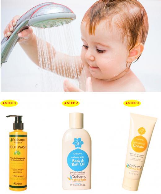 건조한 겨울, 피부 보습력 높이는 아이 목욕법