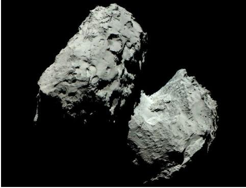 로제타 혜성 화석 정체 /사진=ESA