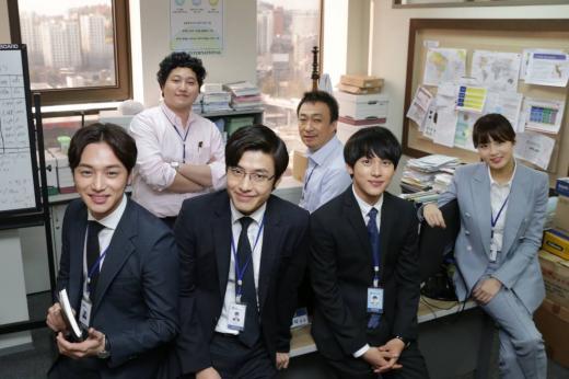 케이블채널 tvN '미생' 현장공개 및 공동인터뷰 /사진=CJ E&M