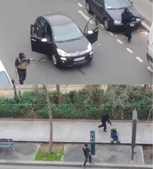 '프랑스 총격 12명 사망' '프랑스 파리 테러' /사진=라이브리크닷컴 동영상 캡처