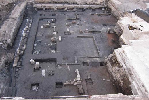 ▲공평동 500년전 골목길 발굴(조선 시대 건물지(16세기))