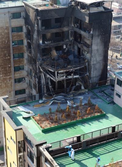'의정부 아파트 화재' /사진=뉴스1