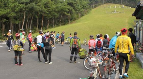 자전거마일리지에는 240여명의 시민들이 활동하고 있으며, 이들을 중심으로 연간 2회의 자전거도시여행이 펼쳐진다./사진제공=보령시그린스타트네트워크