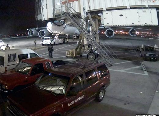 조현아 전 대한항공 부사장 측이 지난해 12월5일 벌어진 '땅콩 회항'사건과 관련해 미국 뉴욕 JFK공항에 찍힌 CCTV 동영상과 사진을 20일 공개했다. /사진=대한항공 제공