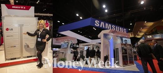 용량이냐 효율이냐…삼성 vs LG, 북미서 '에어컨' 격돌