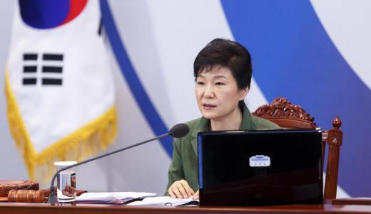 '박근혜 대통령 지지율' /사진=뉴스1