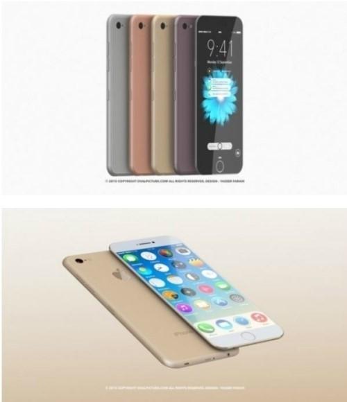 디자이너가 제안한 아이폰7 콘셉트 디자인. /사진=야세르 파라히 디자이너 측
