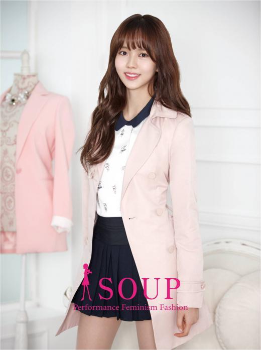 김소현, 영캐주얼 브랜드 'SOUP' 뮤즈로 발탁