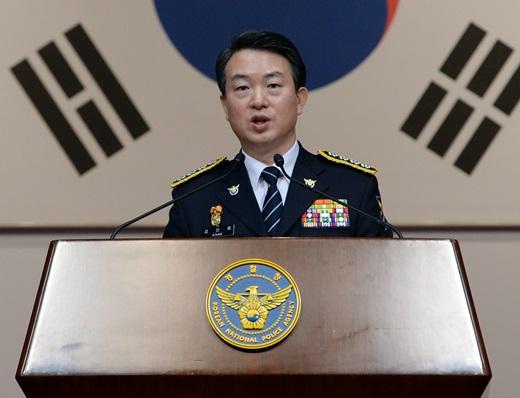 '크림빵 뺑소니' 강신명 경찰청장. /사진=뉴스1