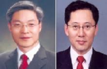 준법감시인 권길주 전무(왼쪽)와 CSO 박성호 전무.
