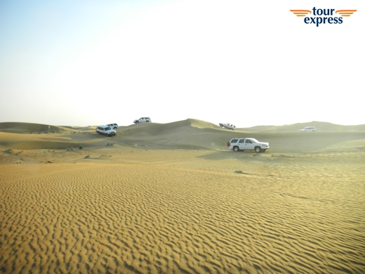 두바이 사막투어 /사진=SM C&C 투어익스프레스 제공