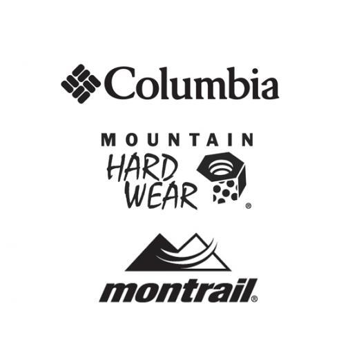 ▲UTMB® 파트너십 브랜드인 컬럼비아, 마운틴하드웨어, 몬트레일