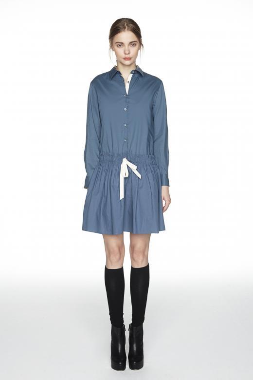 [Item Pick] 루즈한 실루엣으로 연출하는 봄 처녀 룩…'코튼셔츠 드레스'