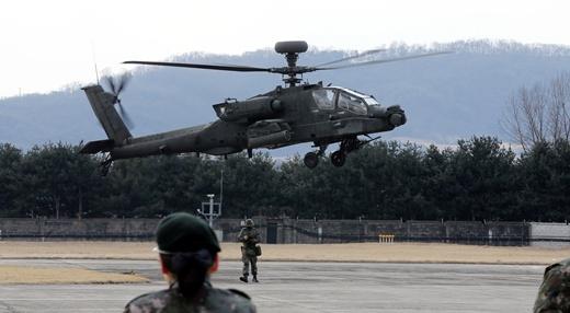 '키리졸브' 연습이 종료된 13일 전날 북한이 지대공 미사일 발사 훈련을 한 것으로 밝혀졌다. /사진=뉴스1